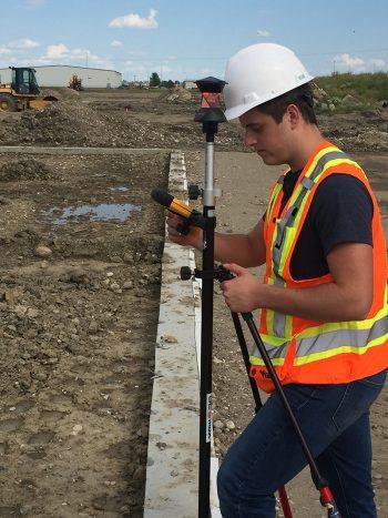 Construction Surveys, Layout Surveys and Final surveys