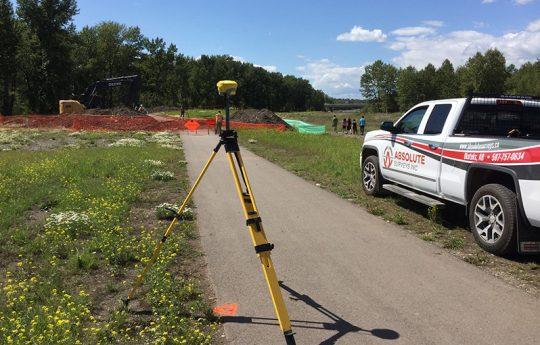 Construction Surveys and Layout and Final surveys