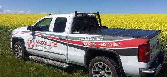 Absolute Surveys Truck